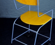Yellow High Chair.