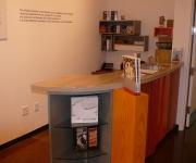 Halsey Institute Front Desk.