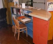 Halsey's Back Office.