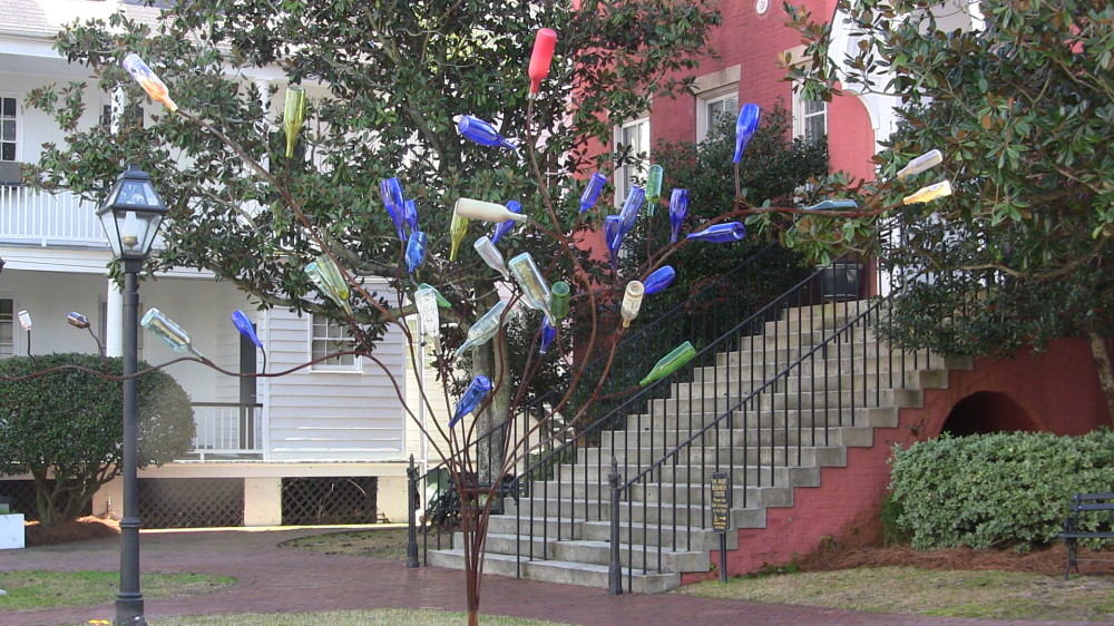 Bottle Tree at the Avery Center
